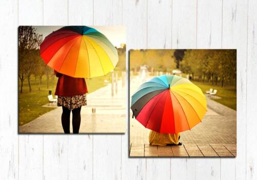 Девочки с зонтом