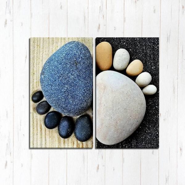 Модульная картина Каменные ножки