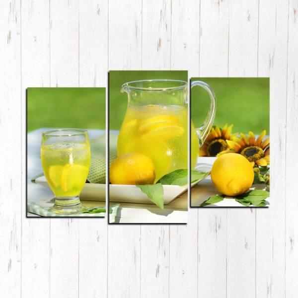 Натуральный лимонад