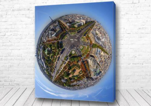Постер Париж 360 градусов