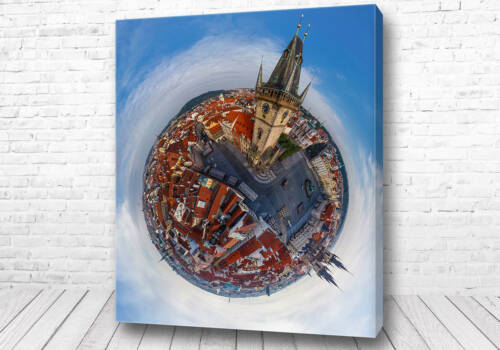 Постер Прага 360 градусов