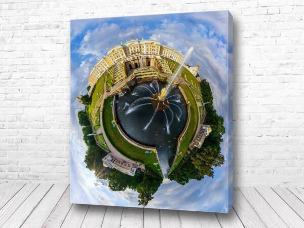Постер Санкт-Петербург 360 градусов