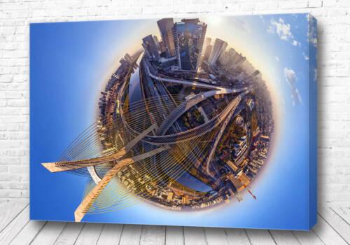 Постер Сан-Паулу 360 градусов