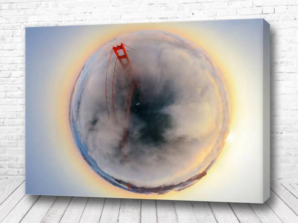Постер Сан-Франциско 360 градусов