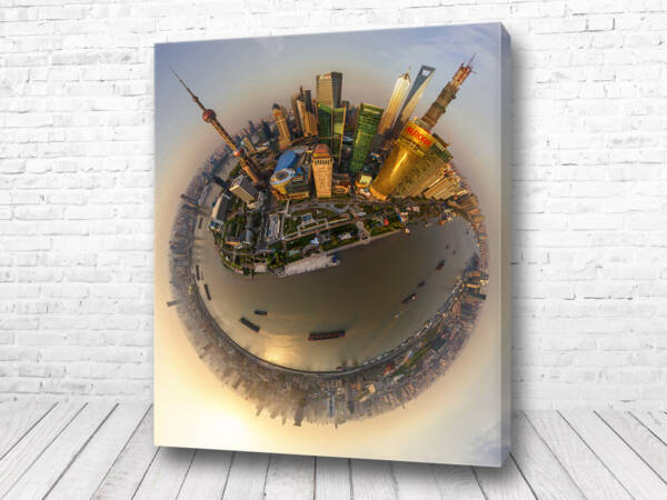 Постер Шанхай 360 градусов