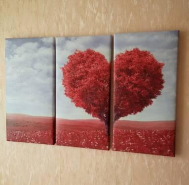 Модульное дерево сердце