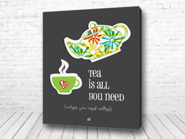 Постер Чайный