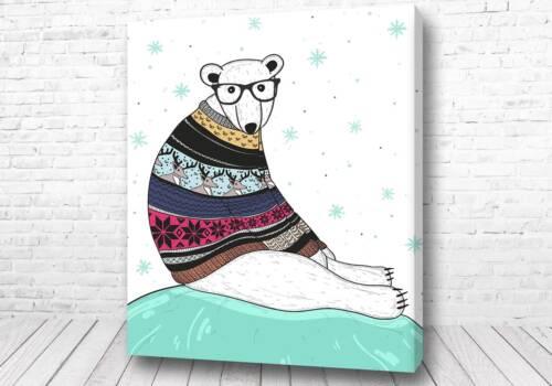 Мишка в свитере