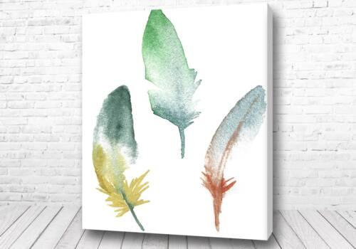 Постер Арт перья