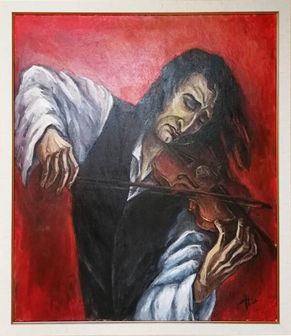 Картина Паганини