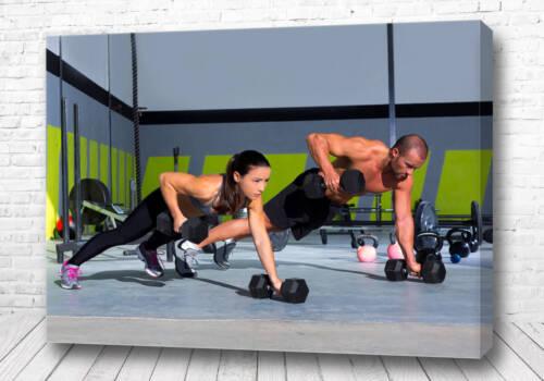 Постер Семейный фитнес