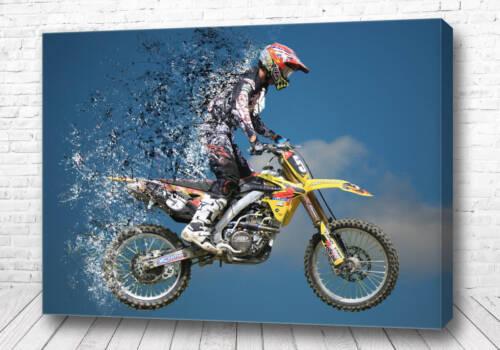 Постер Мотокросс арт