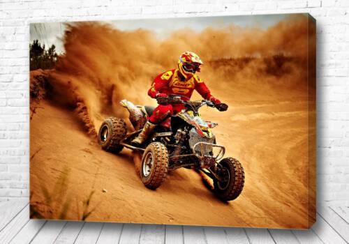 Постер Квадроциклист