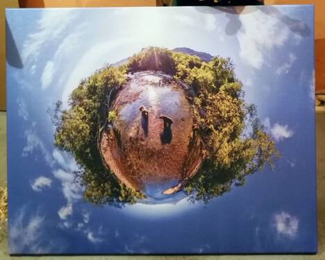 Постер Камчатка панорама