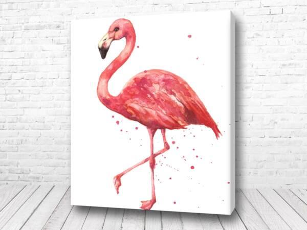 Постер Великолепный фламинго