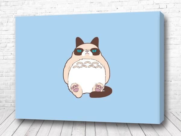 Постер Стильный кот