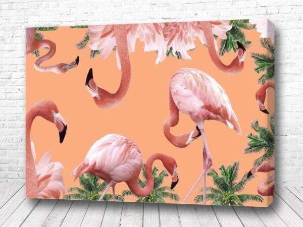 Фламинго папоротник