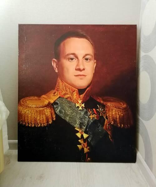 Портрет в образе полководца