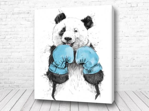 Весёлый панда