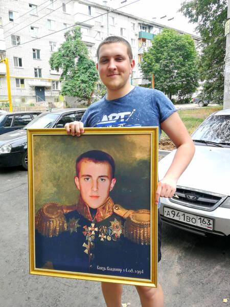 Портрет Князь Владимир