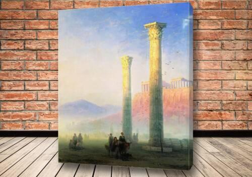 Картина Афинский Акрополь 1883