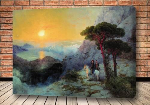 Картина А.С. Пушкин на вершине Ай-Петри