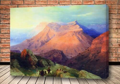 Картина Аул Гуниб в Дагестане