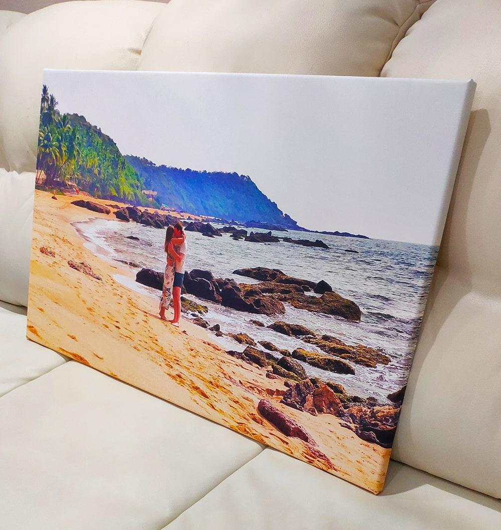 Фото на холсте берег моря