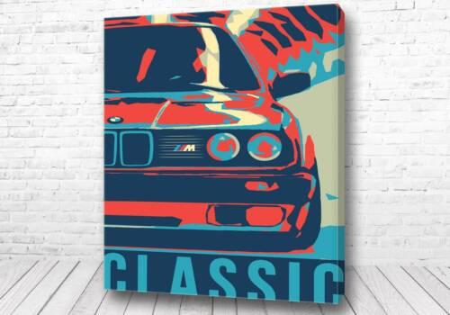 Постер Арт BMW
