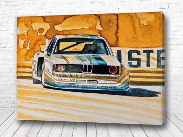 Постер BMW гоночный стиль