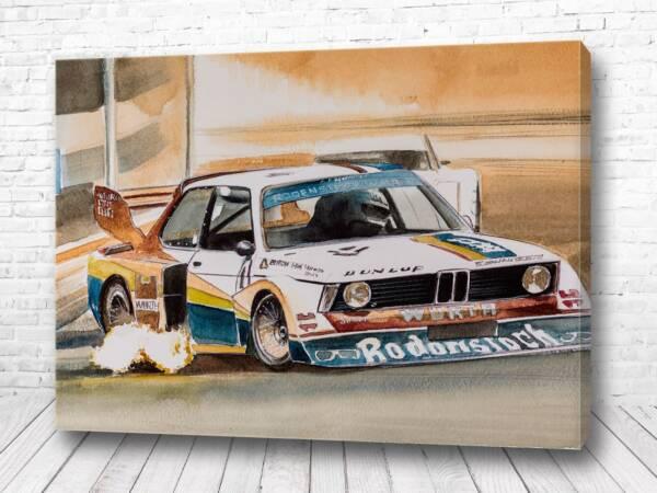 Постер Легенда гонок BMW