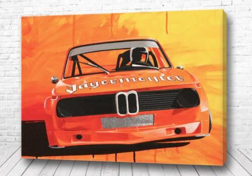 Постер Картина яркая BMW