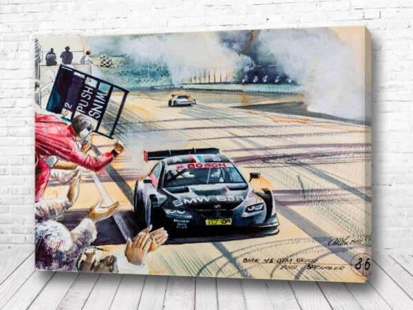 Постер BMW на финише