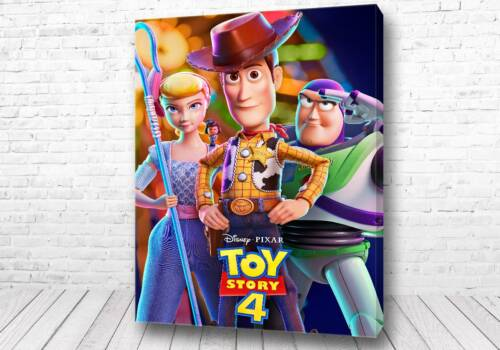 Постер Главные герои История игрушек 4