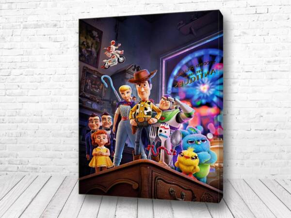 Постер Герои История игрушек 4