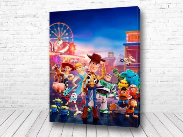 Постер Персонажи История игрушек 4