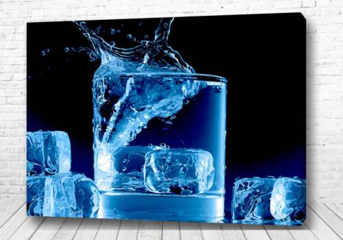 Постер Кубики льда