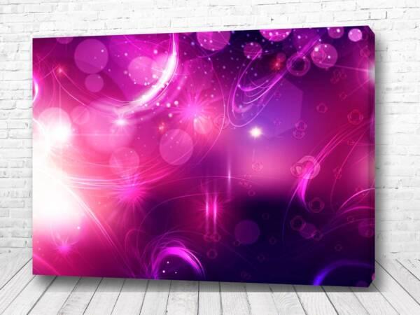 Постер Розовое размытие