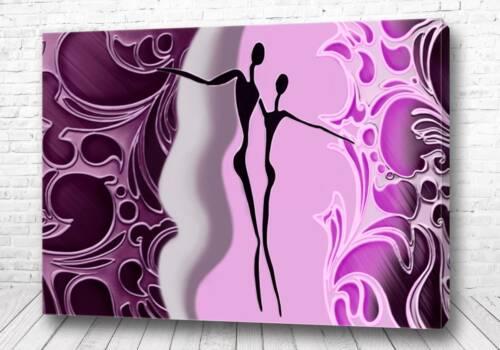 Постер Фиолетовый силуэт