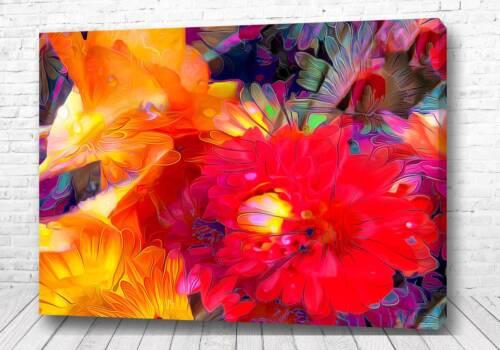 Постер Акварельные цветы
