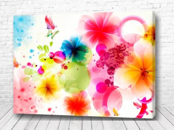 Постер Акварель из цветов