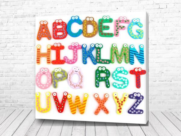Постер Алфавит Английский