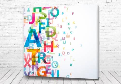 Постер Алфавит арт