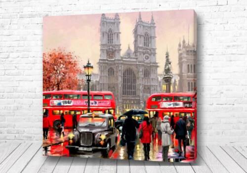 Постер Английский город