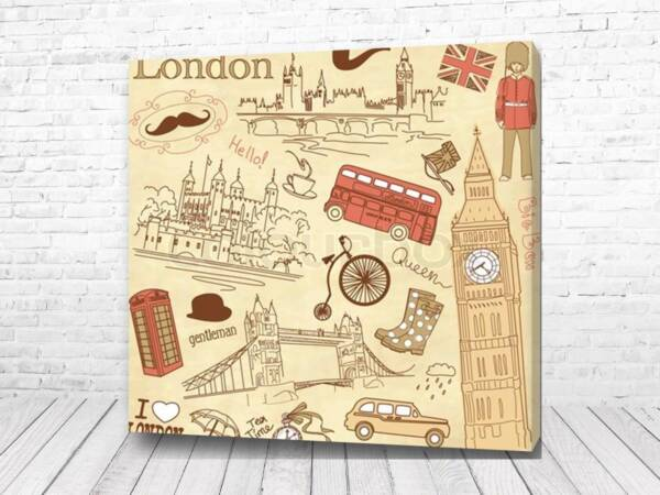 Постер Лондон вместе