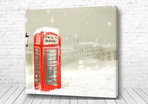 Постер Зимняя Англия