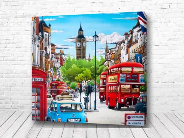 Постер Лондон картина