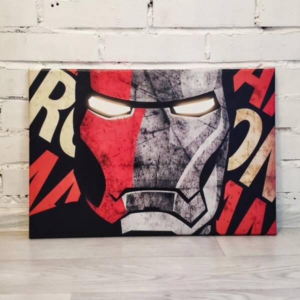Постер Железный Человек 1