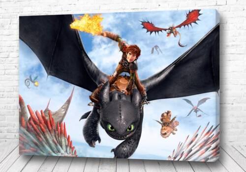 Постер в атаку на драконе