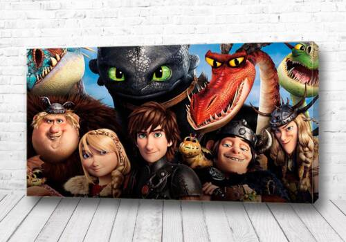 Постер как приручить дракона все вместе